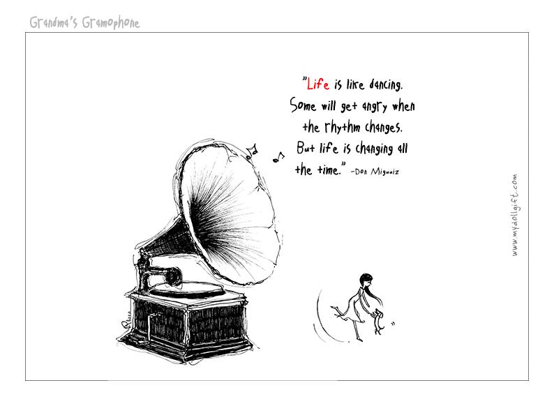 grandma gramophone