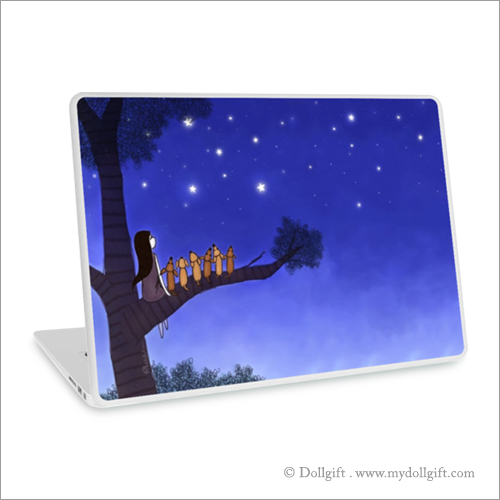 Wish Upon A Star, Laptop skin