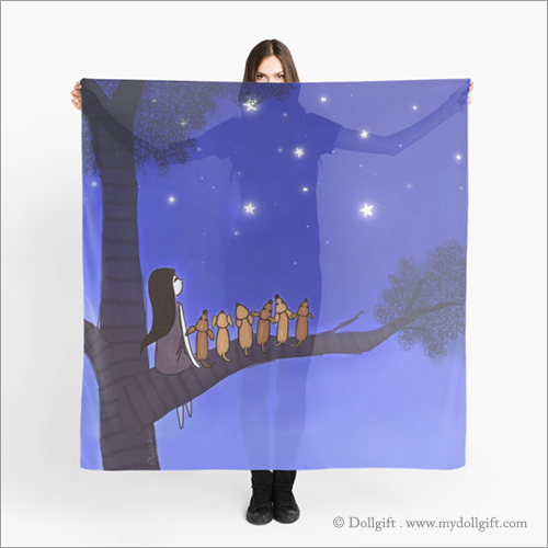 Wish Upon A Star, scarf