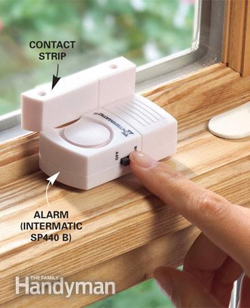 Wireless window alarms are effective