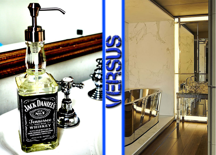 JD Soap Dispenser vs Gorgeous Bathroom
