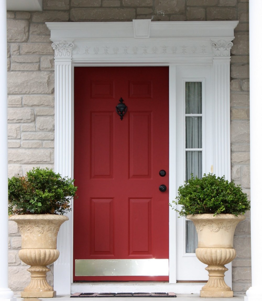 IMPROVEMENT: REPLACE THE FRONT DOOR Replacing a tired-looking front door may be a smart move. This simple project can recoup a bit over 91 percent of its cost when you sell, according to the Remodeling 2016 Cost vs. Value Report. A steel door is a better value than fiberglass for most homeowners. Opting for a fiberglass door could still lead to a tidy 82 percent return on investment, but it also costs more: an average of $3,126 compared with $1,335 for steel, according to Remodeling's data.