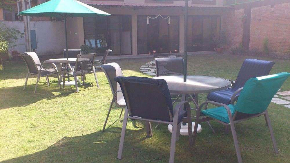 Shambala Spa garden.JPG