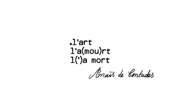 Anaïs de Contades, contemporary poet @anaisdecontades #anaisdecontades #fleursucette #artistandmuse #artistandmusemagazine #RomanticRebellion #poesie #poeme #poetry #contemporarypoet #contemporarypoetry #contemporaryart #frenchpoetry #muse #tate #moma #whitecube #perrotin #gagosian #artbasel #frieze #anothermagazine #dazedandconfused #poete #centrepompidou #numeromagazine #vogue #vanityfair #idmagazine #litterature #lartlamourlamort
