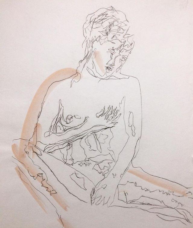 DRAWING OF HIS MUSE @anaisdecontades by @lansking . . . . . . . . . @lansking @anaisdecontades #lansking #anaisdecontades #artistandmusemagazine #romanticrebellion #contemporaryart #tate #moma #artforum #friezemagazine #contemporaryartcollector #artbasel #artnet #artsy #newyorktimes #sadiecoles #gagosian #whitecube #lofficiel #vogue #numeromagazine #dazedandconfused #gq #esquire #collectorshomes #katemoss #karllagerfeld #peterlindbergh #mariotestino