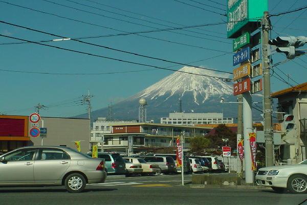 A view of Fuji City