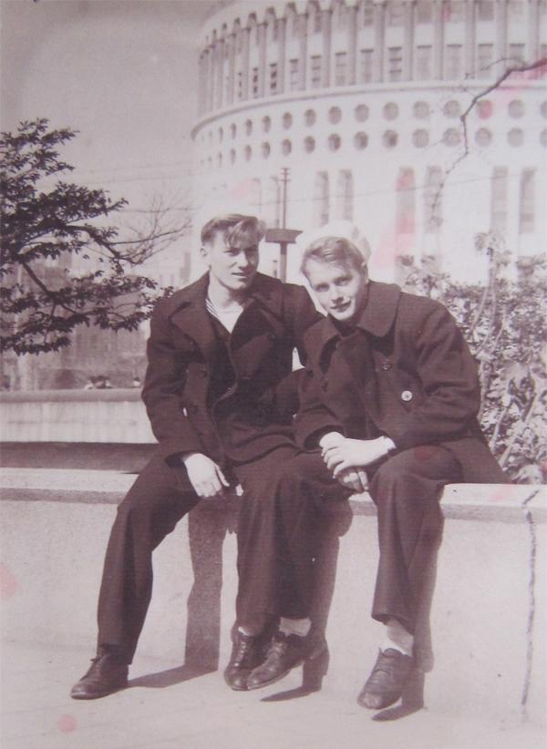 Bob Murphy in Ginza, Tokyo 1945