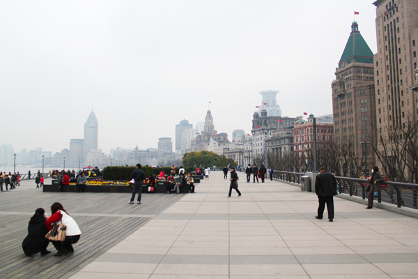 The Bund in the daytime