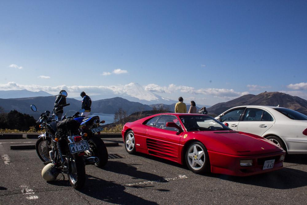 Fuji_and_Ferrari