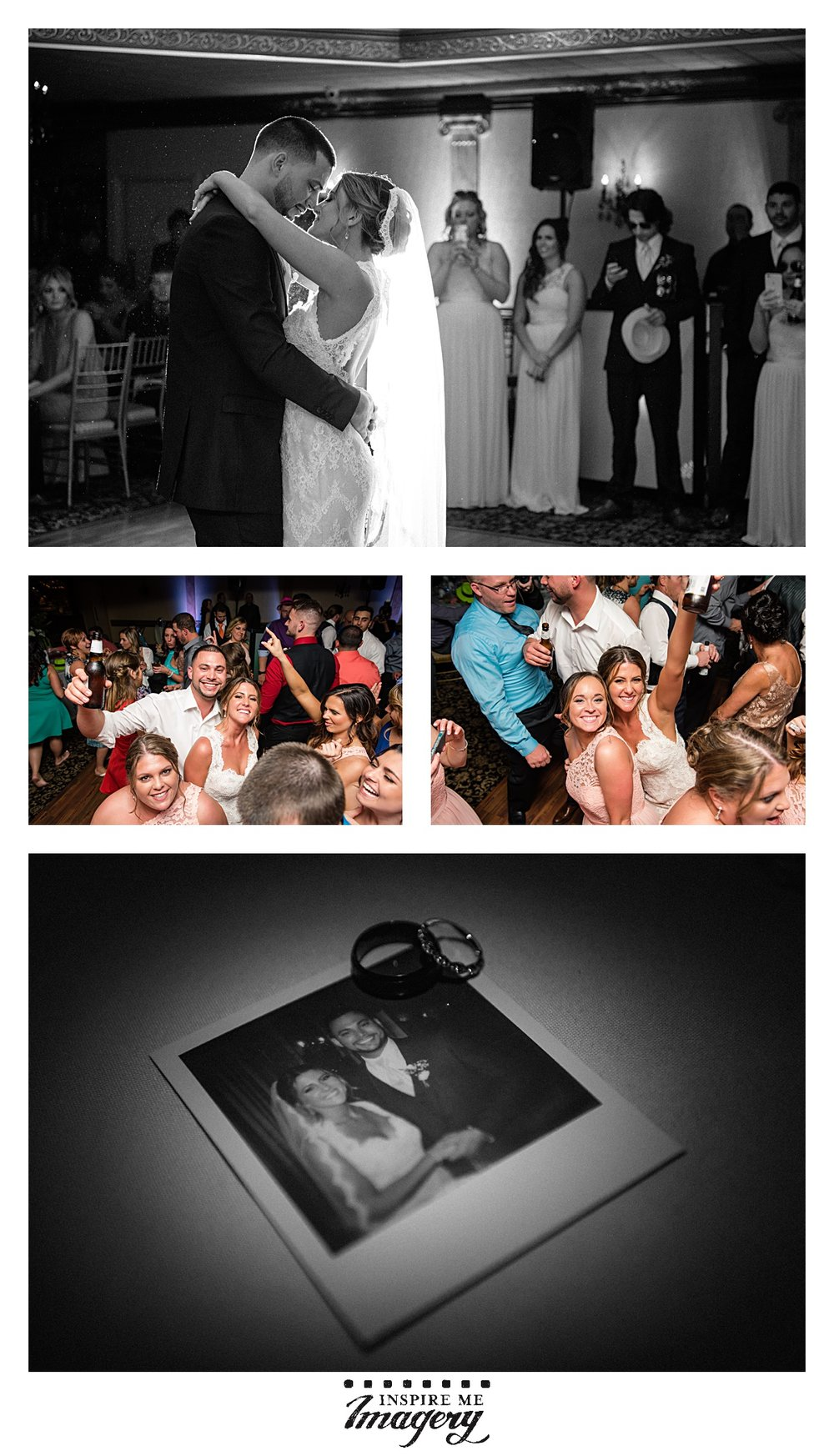 Love beautiful moments during first dances, and then reception time! Party, party, party.
