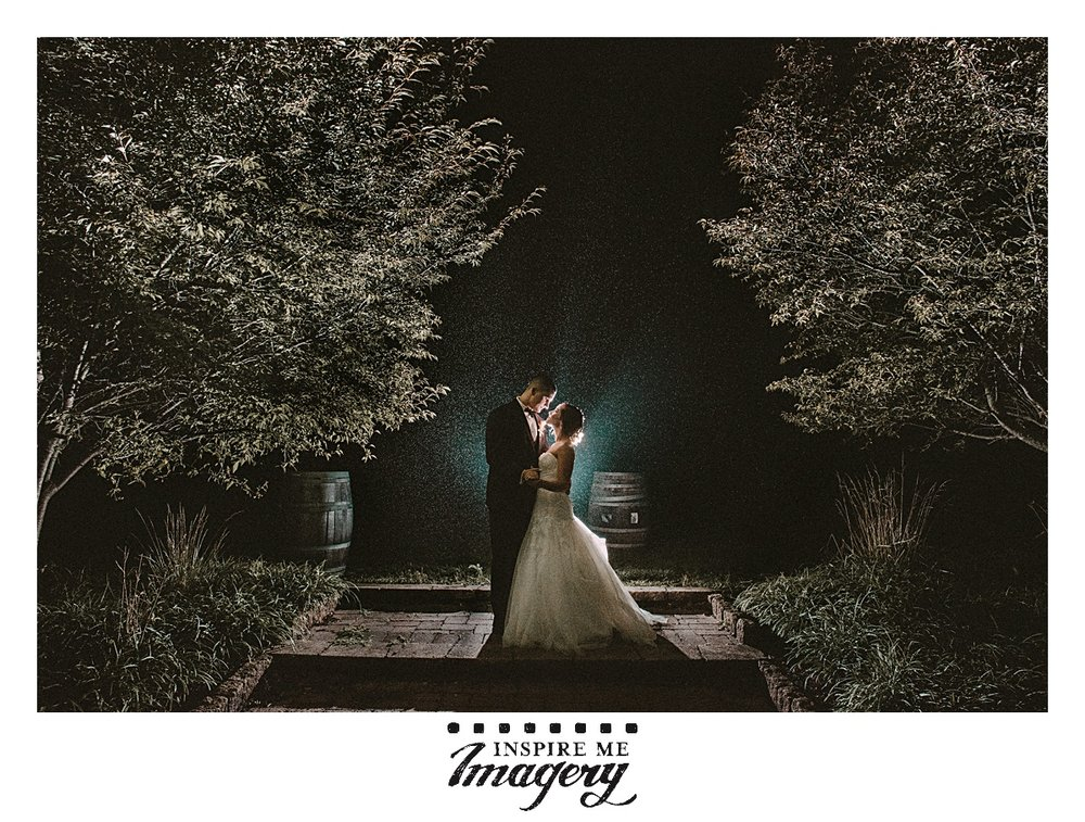 We love doing night portraits, and a little bit of mist goes such a long way with the light.