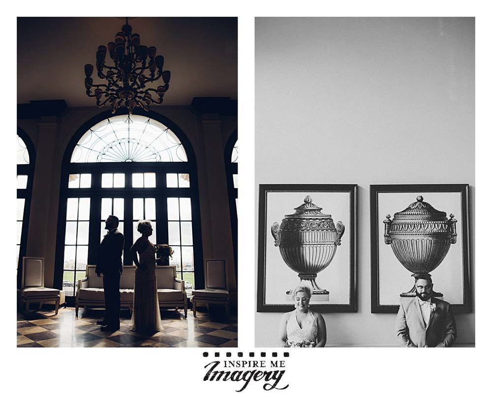 We've photographed weddings at the Berkeley Oceanfront Hotel in Asbury Park plenty of times, and it is a thrill each and every time. The light is different at different parts of the day, allowing us to give each couple something new.