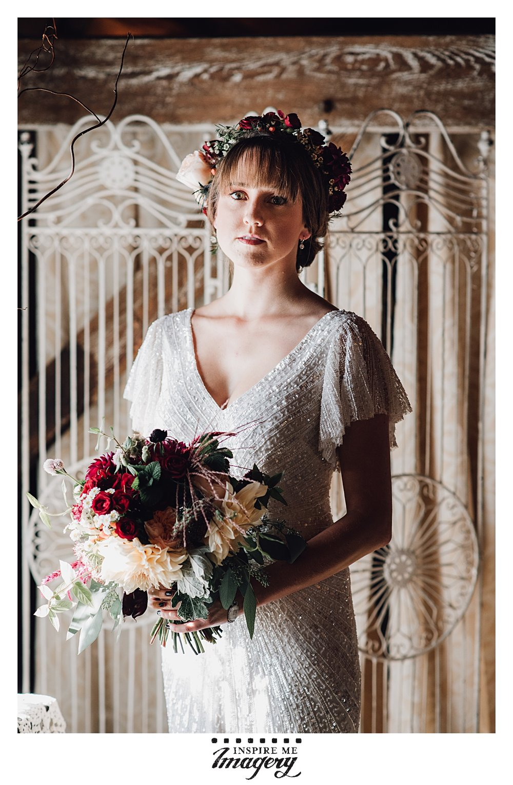 "This bride is just so beautiful. Every time I see this portrait, the first word that comes to mind is ""ethereal."""