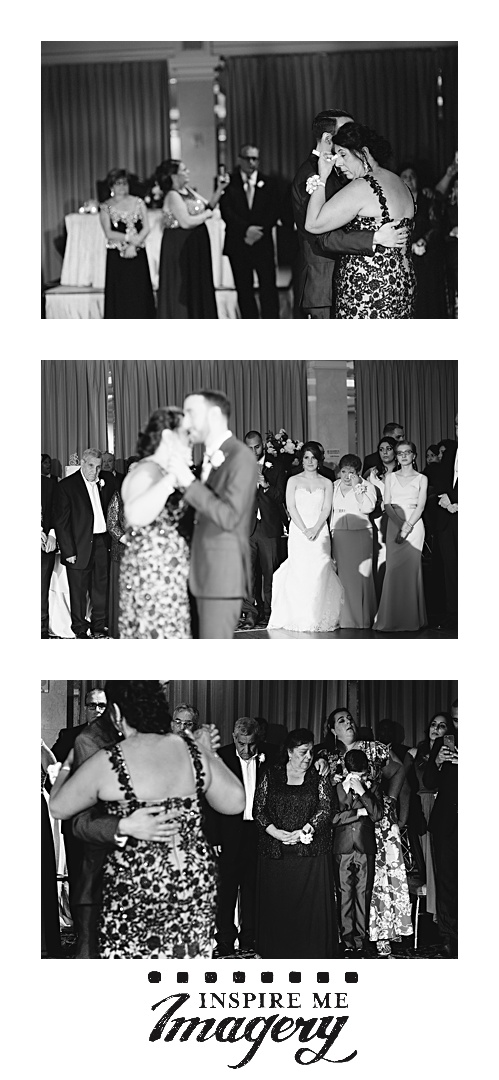 A lot of people tear up during parent dances. The last photo in this set is so powerful.