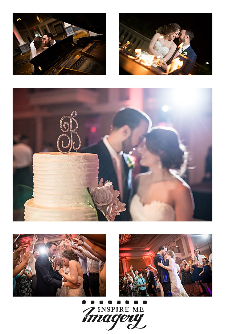 A quick couple of portraits from the reception, cake cutting, and more love.