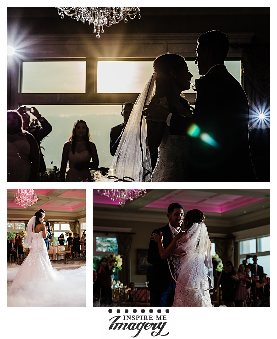 The first dance began just as the sun was setting, and we were able to get some incredible backlit shots.