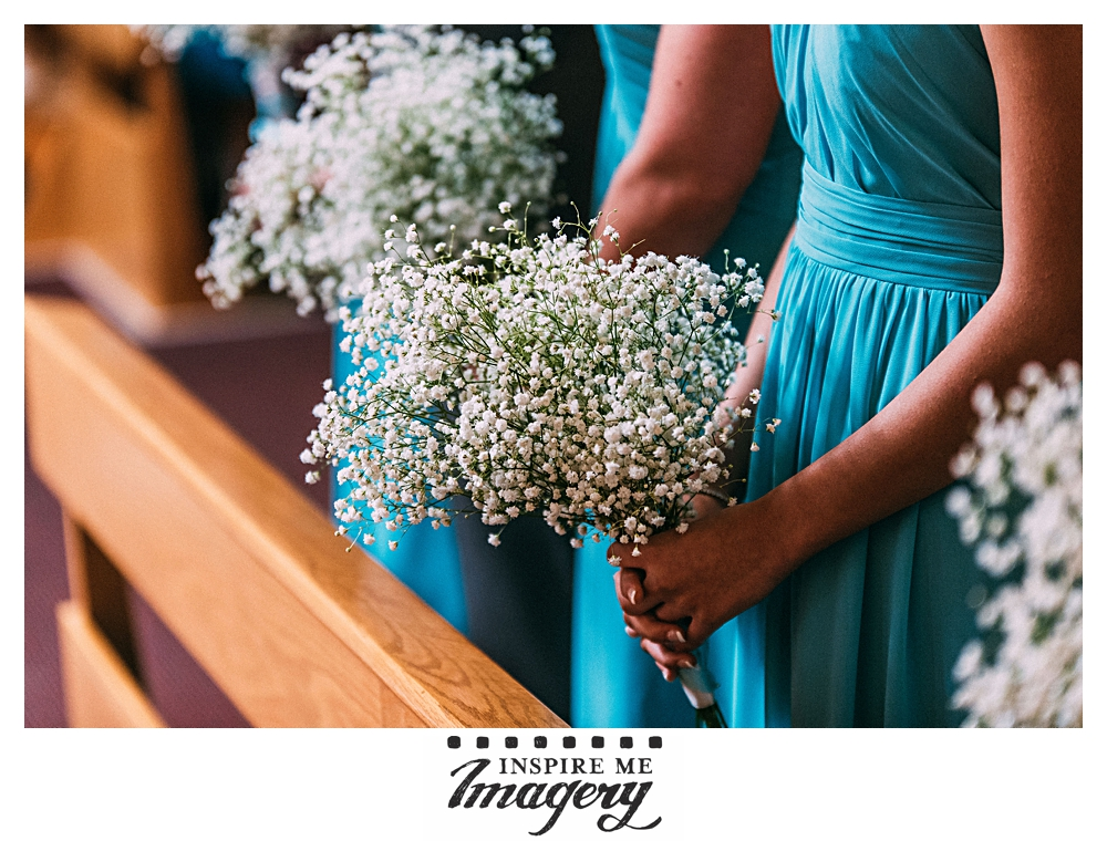 Soft and romantic bouquets of baby's breath.