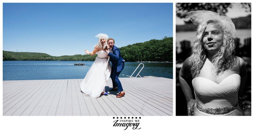 Wedding photos taken at  Lake Valhalla Club / 13 Vista Rd., Montville, NJ 07045