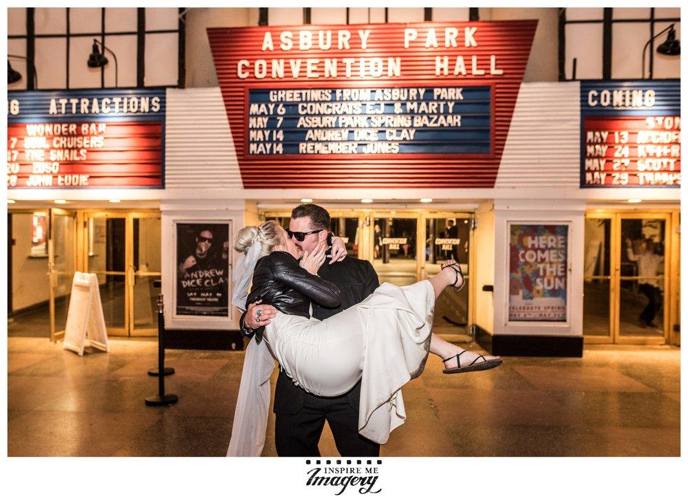 Wedding photo taken at  Convention Hall / 1300 Ocean Ave, Asbury Park, NJ 07712