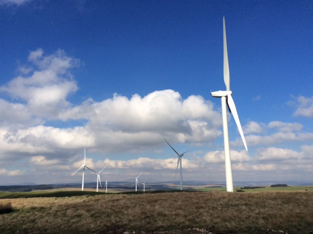 The Tirgwynt turbines