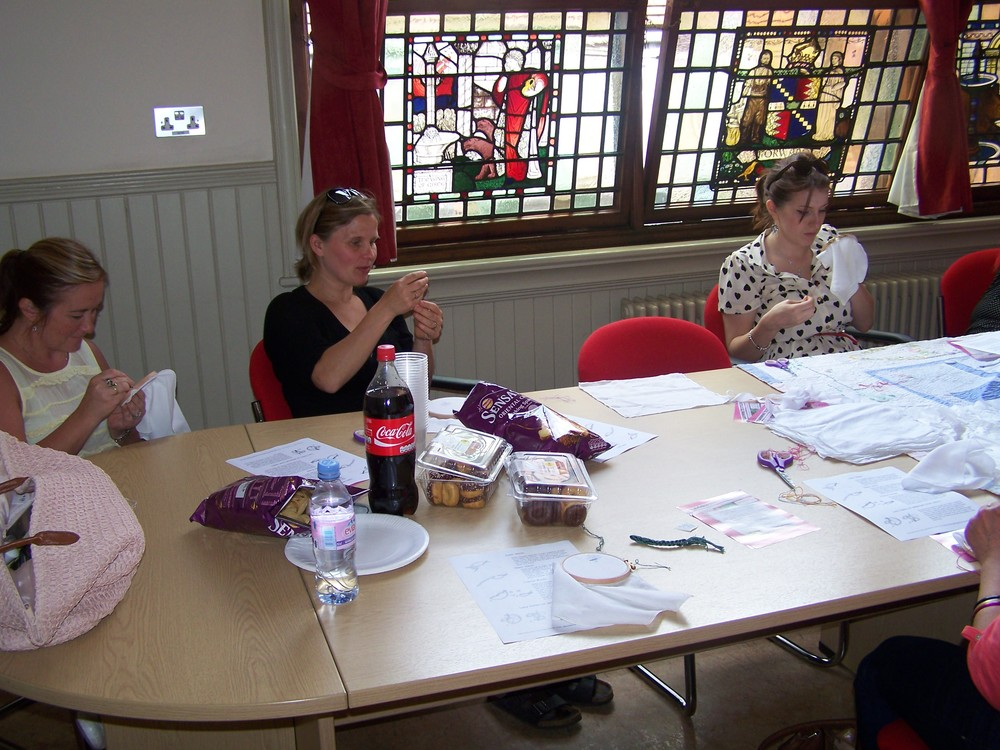 Embroidery Workshop Hosted by Elena Thomas