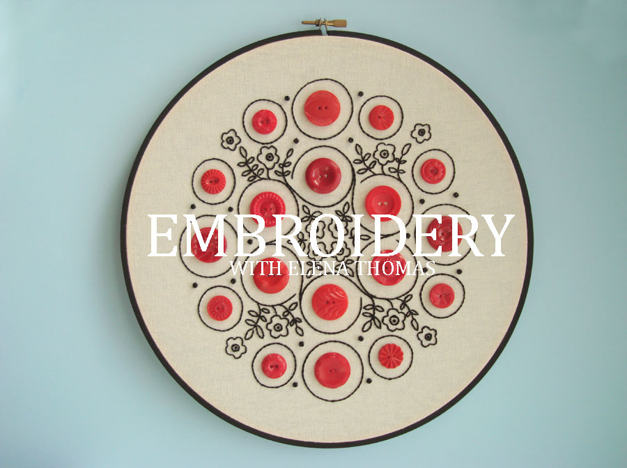 The Craftswoman's Club: Embroidery Workshop