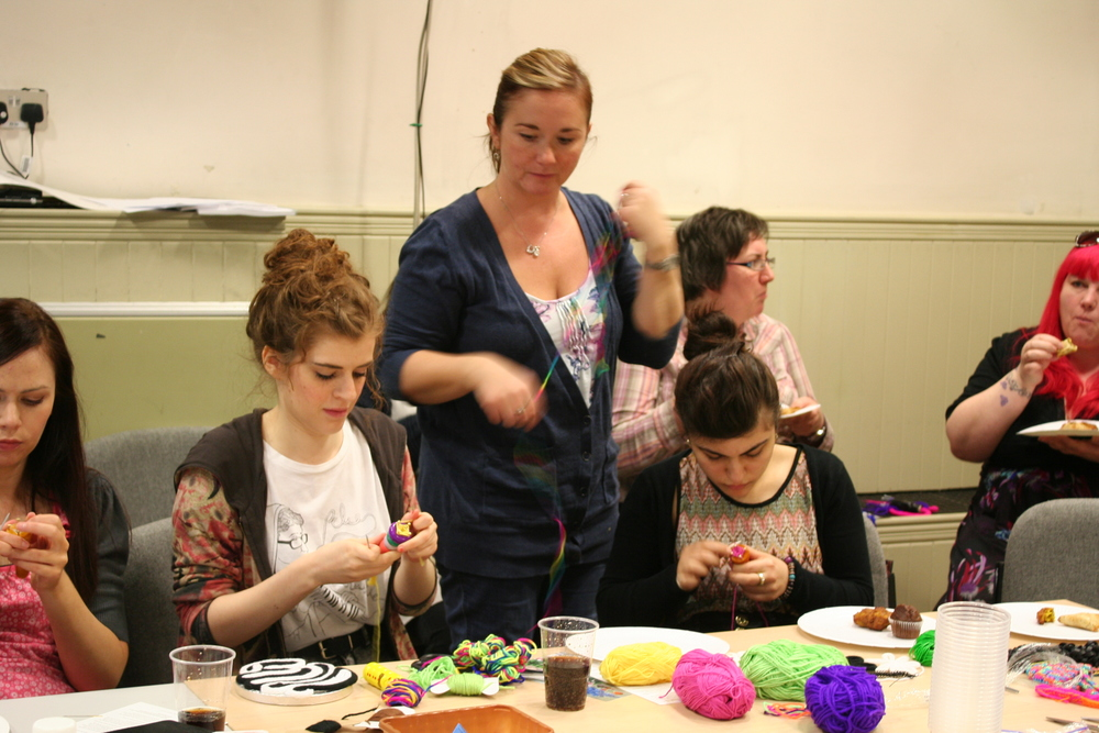 The Craftswoman's Club: French Knitting