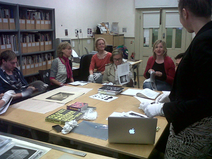 Student-led workshop on Futuristic Visions in our Archives