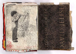 Jamie Shovlin,  Naomi V Jelish , 2004, extraneous drawings, private sketchbooks and school sketchbooks