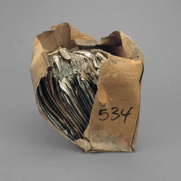 Stuart Whipps, photograph of Madin archival bag shown in  Why Contribute to the Spread of Ugliness? , Ikon Gallery, 2011