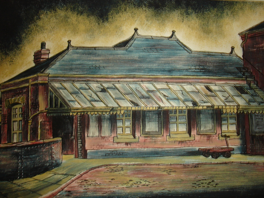 Arthur Lockwood, Tysley Station, Birmingham, 1950