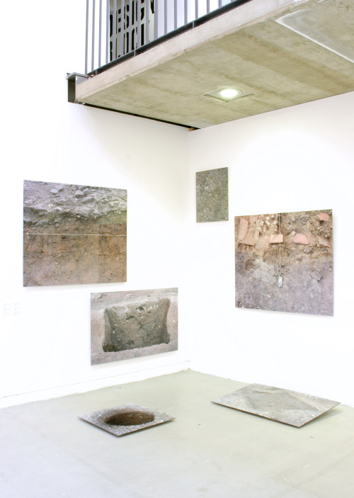 Jo Gane , Installation view,  Perspectives in Time , 2010