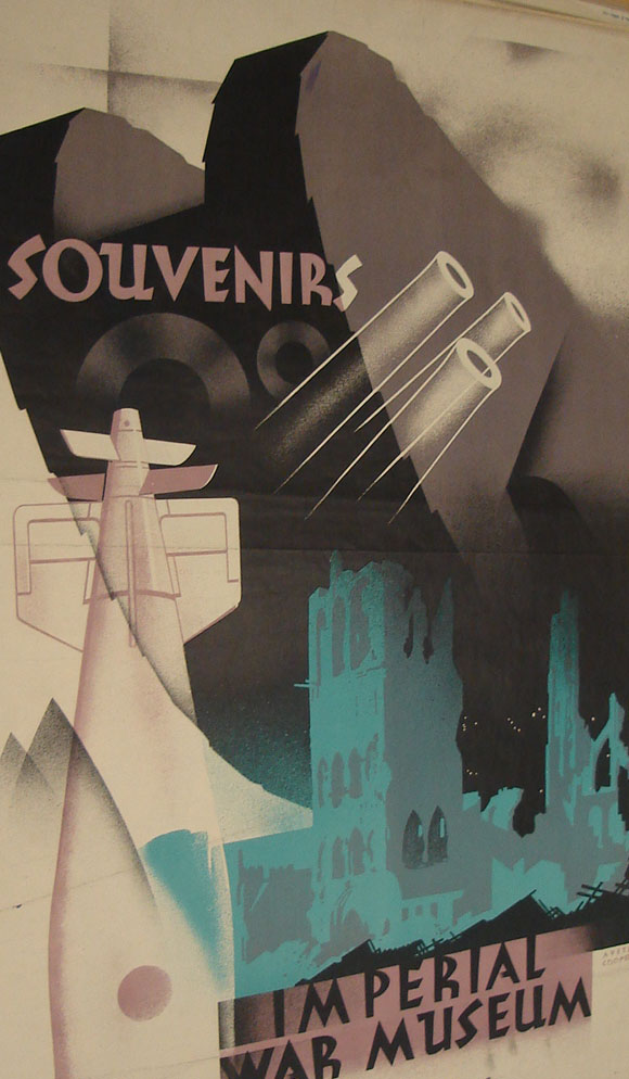 Austin Cooper, detail from advertising poster for the Imperial War Museum, 1932