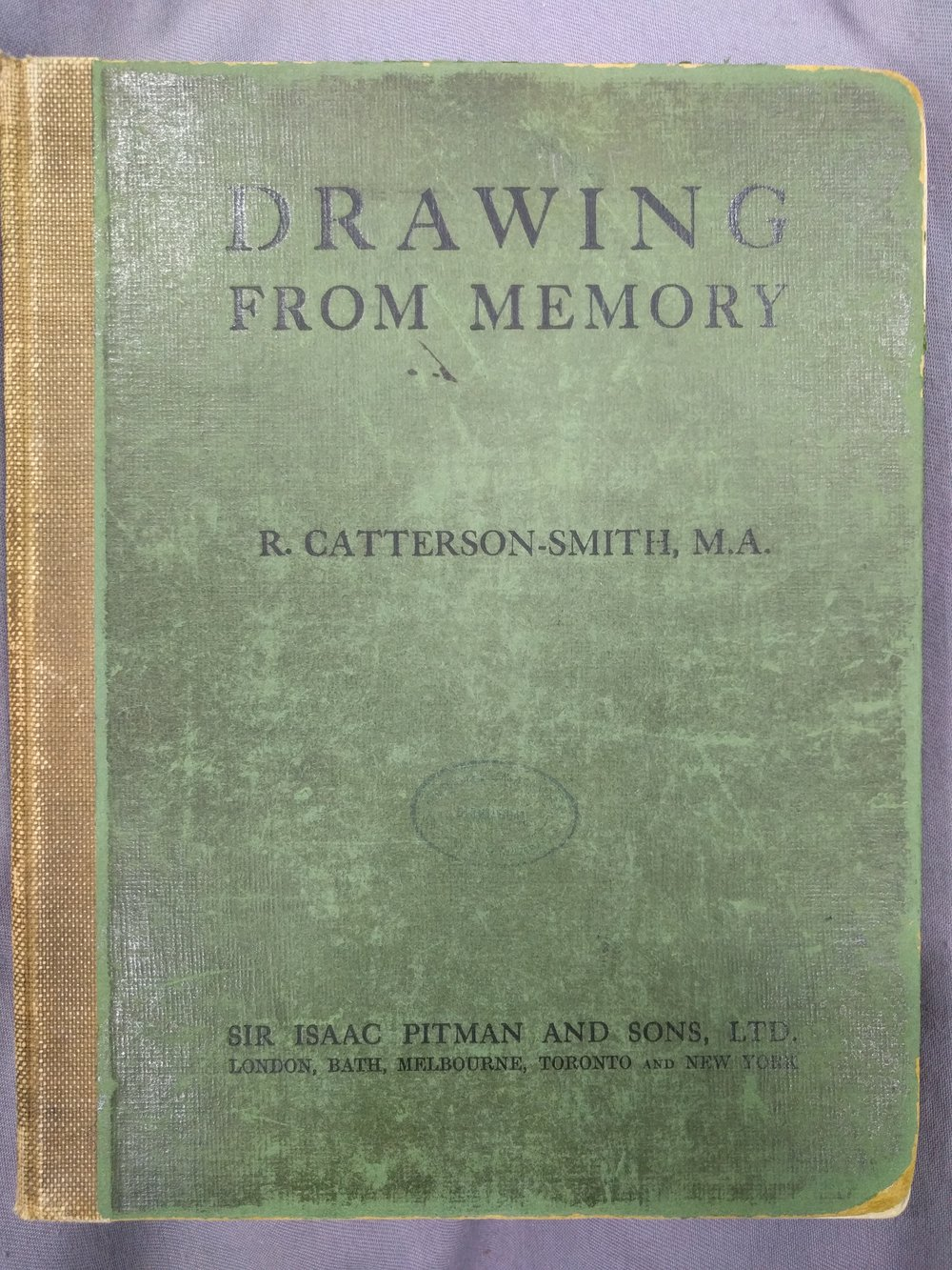 Robert Catterson-Smith,  Drawing from Memory , Isaac Pitman and Sons: London, Bath, Melbourne, Toronto and New York 1921.