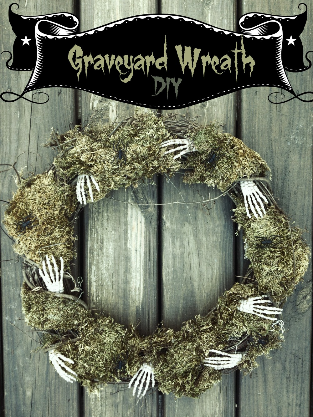 graveyard wreath