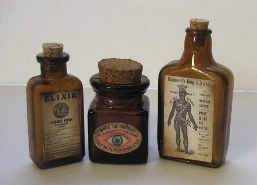 Apothecary Bottles