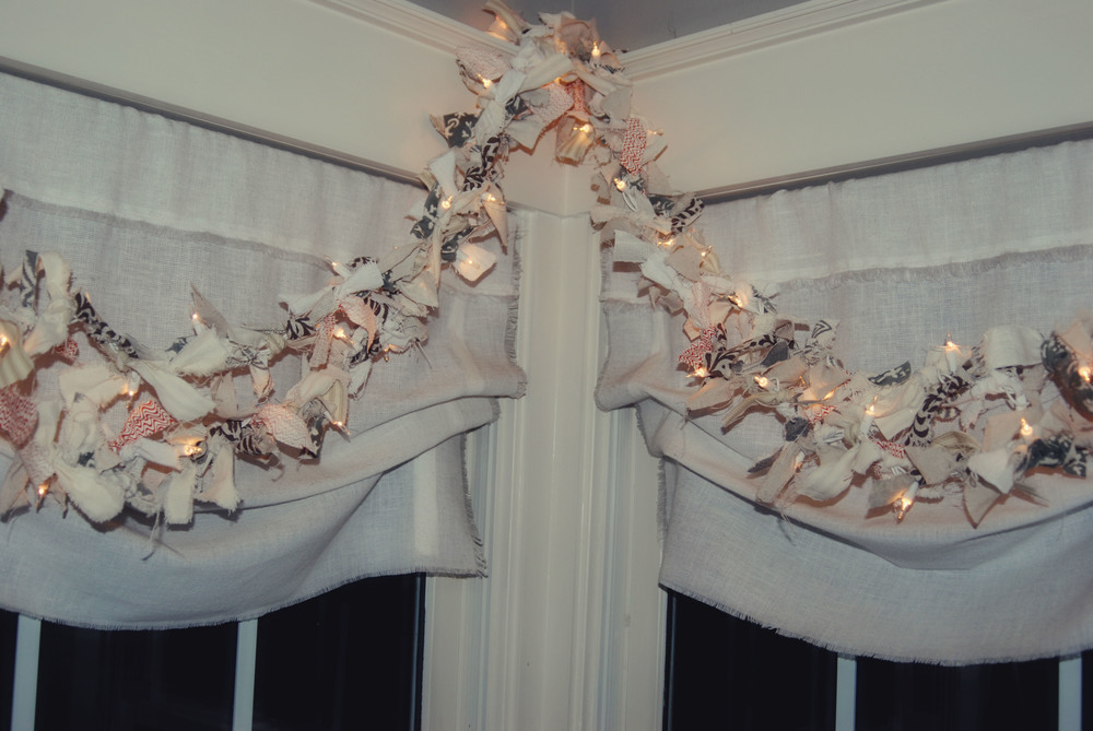 twinkly rag garland via Nest