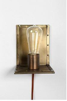 Angled Wall Lamp $59