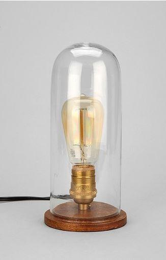 Cloche Lamp $98