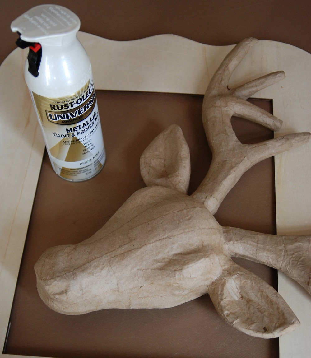 Faux Deer Head Diy Nest Home Interiors