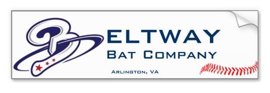 Beltway Bat Bumper Sticker