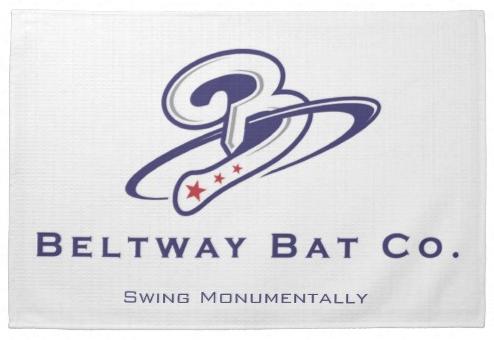 Beltway Bat Kitchen Towel