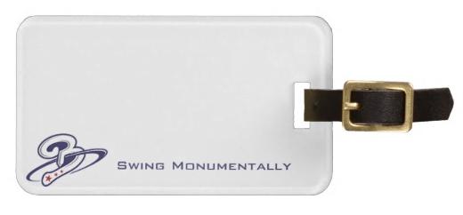 Beltway Bat Luggage Tag