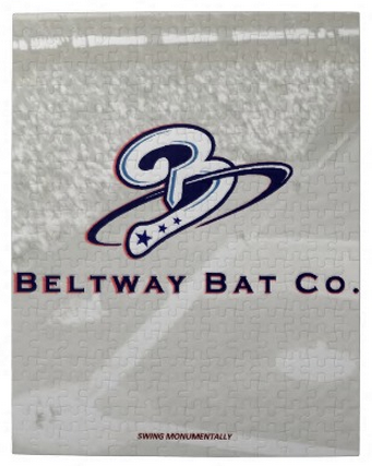 Beltway Bat 'Swing Monumentally' Jigsaw Puzzle