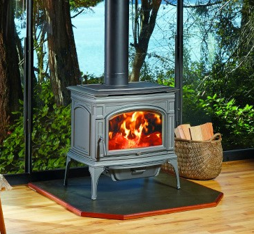 Rockport Hybrid-Fyre™ Wood Stove - 0.8 Grams/Hour Emissions