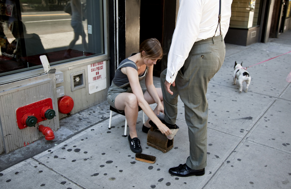 October 1-10 2011 from 9am-5pm Along the full length of 14th Street, NYC Art in Odd Places 2011: RITUAL Opening reception, Friday, September 30, 6-9pm Photo credit: Jean Vong