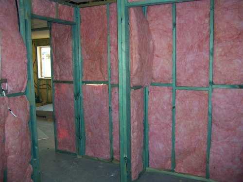 industrial interior foam spray insulation wall