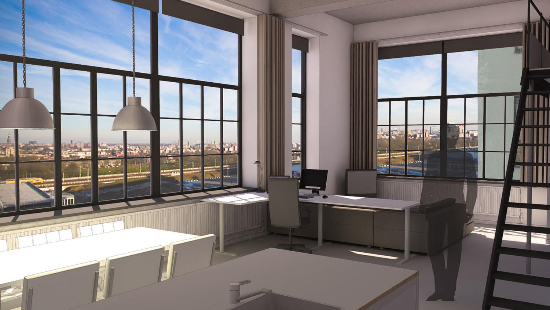 loft interieur eindhoven in de voormalige philips fabrieken op strijp_s in eindhoven zijn loftwoningen gerealiseerd