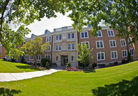 Jarvis Hall -- your potential new home on campus! Photo Credit: Michael Neal
