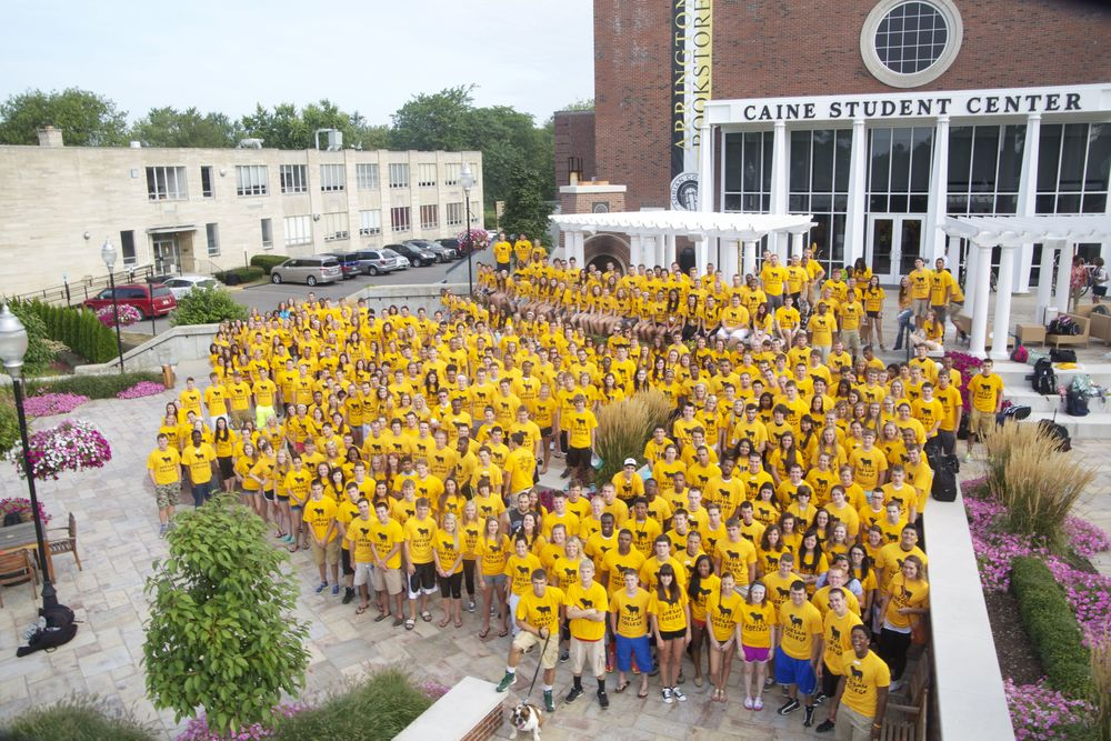Say cheese, Class of '17! Photo Credit: Michael neal